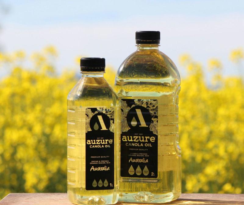 Australian Canola Oil Study finds auzure Canola Oil MSM Milling best oil in Australia