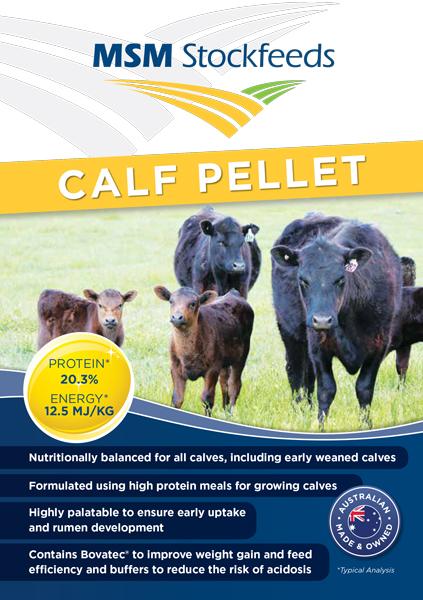 Calf-Pellet